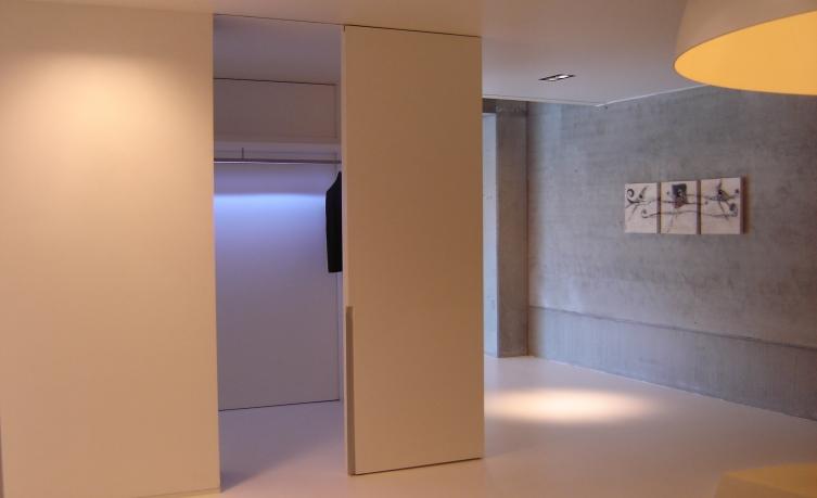 Portes coulissantes accueil bminus for Rails portes coulissantes suspendues